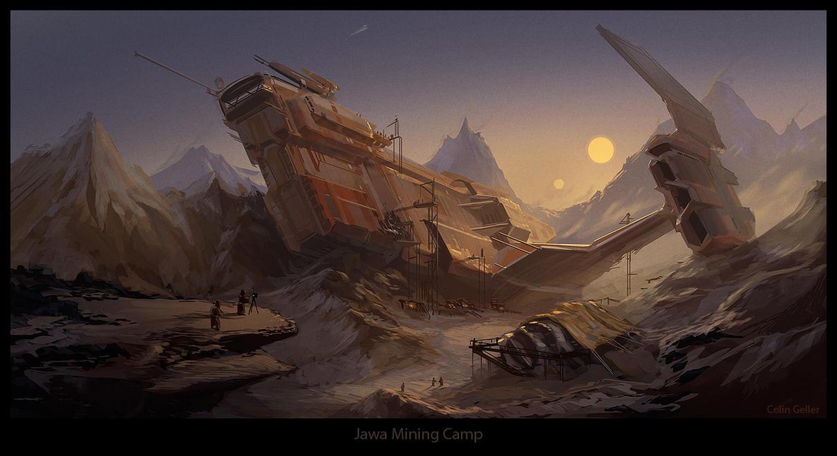 Jawa Mining Camp by MeckanicalMind