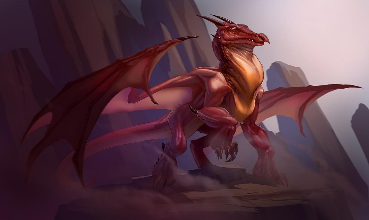 Red Dragon by MeckanicalMind