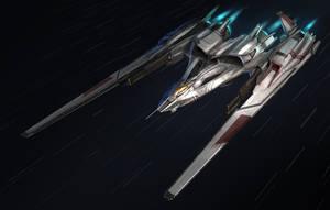 Starfighter Zero by MeckanicalMind