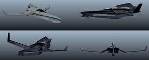 Aerial Fighter Rough