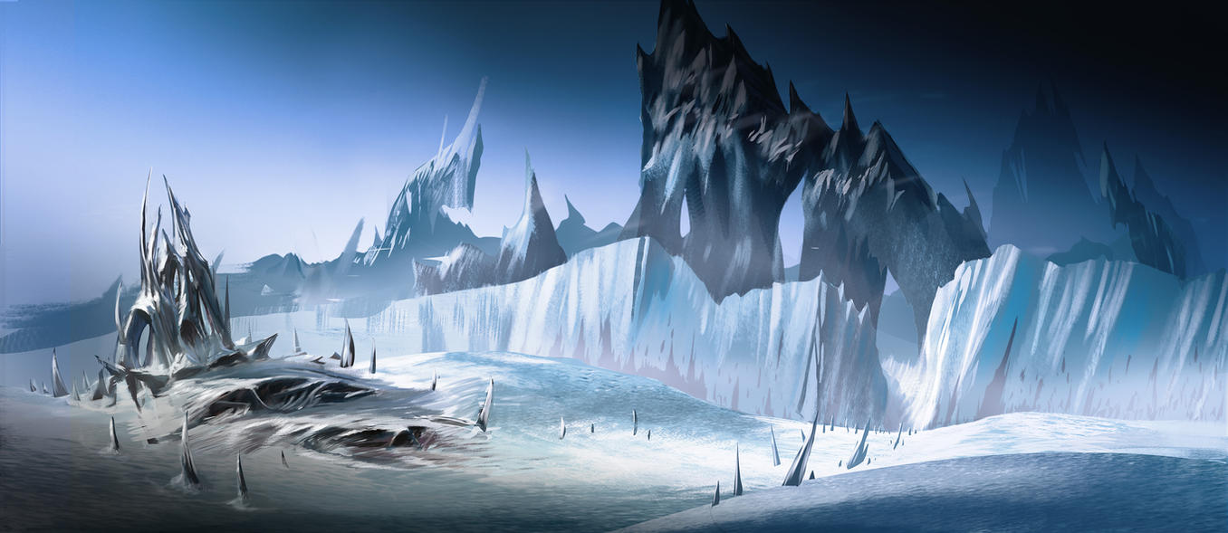 Ice Planet Hive by MeckanicalMind