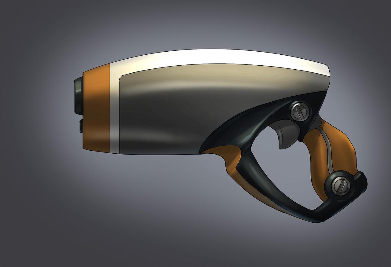 Laser Pistol by MeckanicalMind