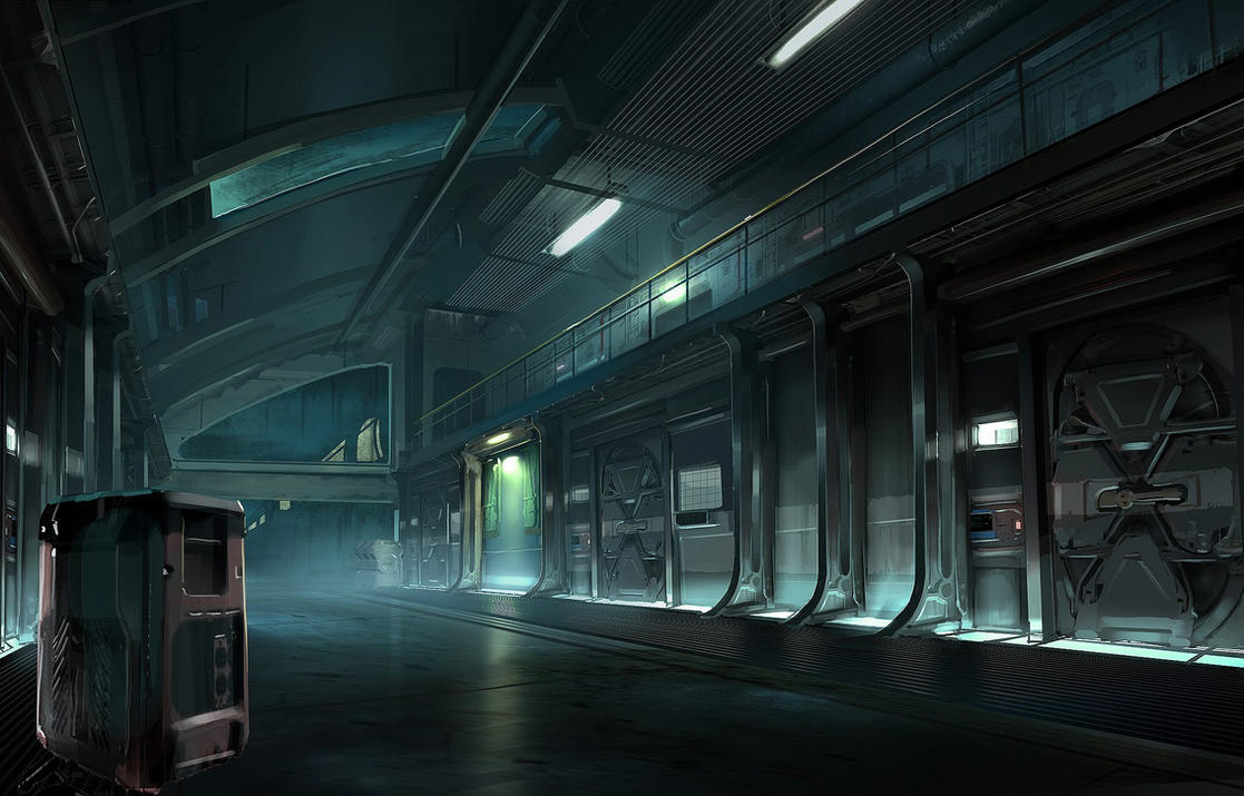 FUSE Underwater Base Interior 2 by MeckanicalMind