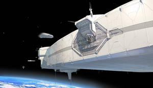 FUSE Space Station Docking Port