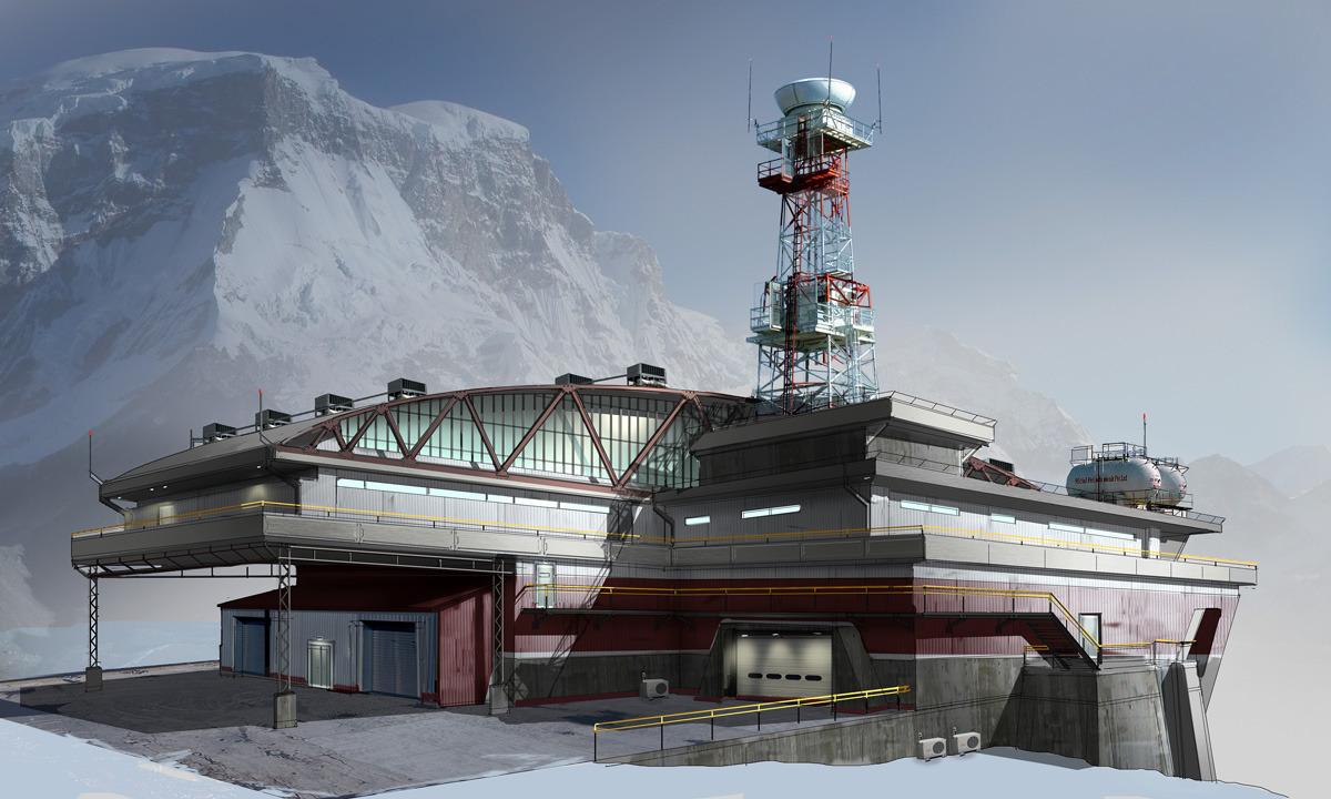 FUSE Airbase Gondola Station by MeckanicalMind