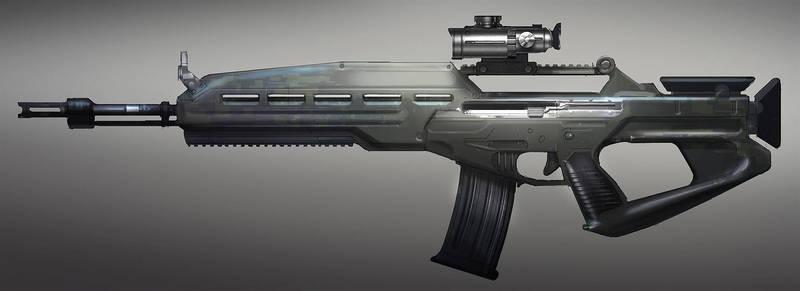 FUSE Standard Rifle Prototype