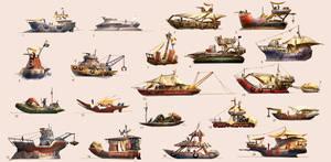 Junk Boat Thumbnails