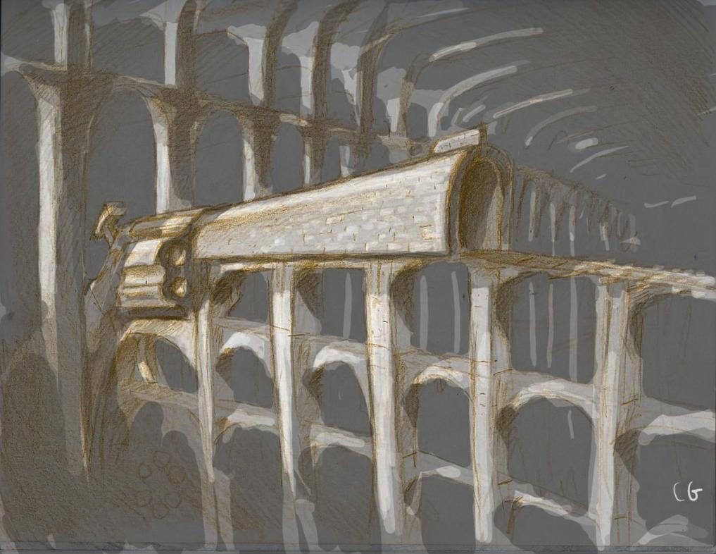 Rail Gun by MeckanicalMind