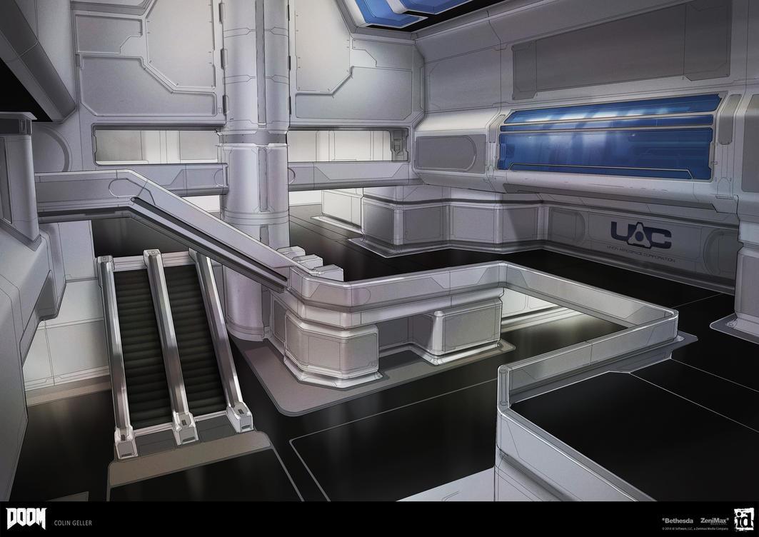 DOOM - Clean Modular Atrium by MeckanicalMind