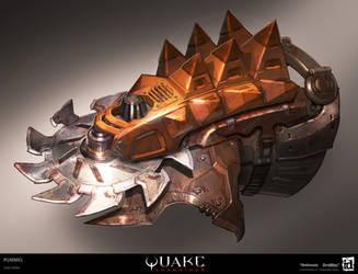 Quake Champions - Pummel by MeckanicalMind