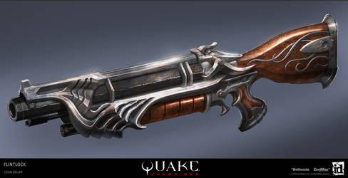 Quake Champions - Flintlock by MeckanicalMind
