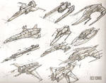 Space ships 6