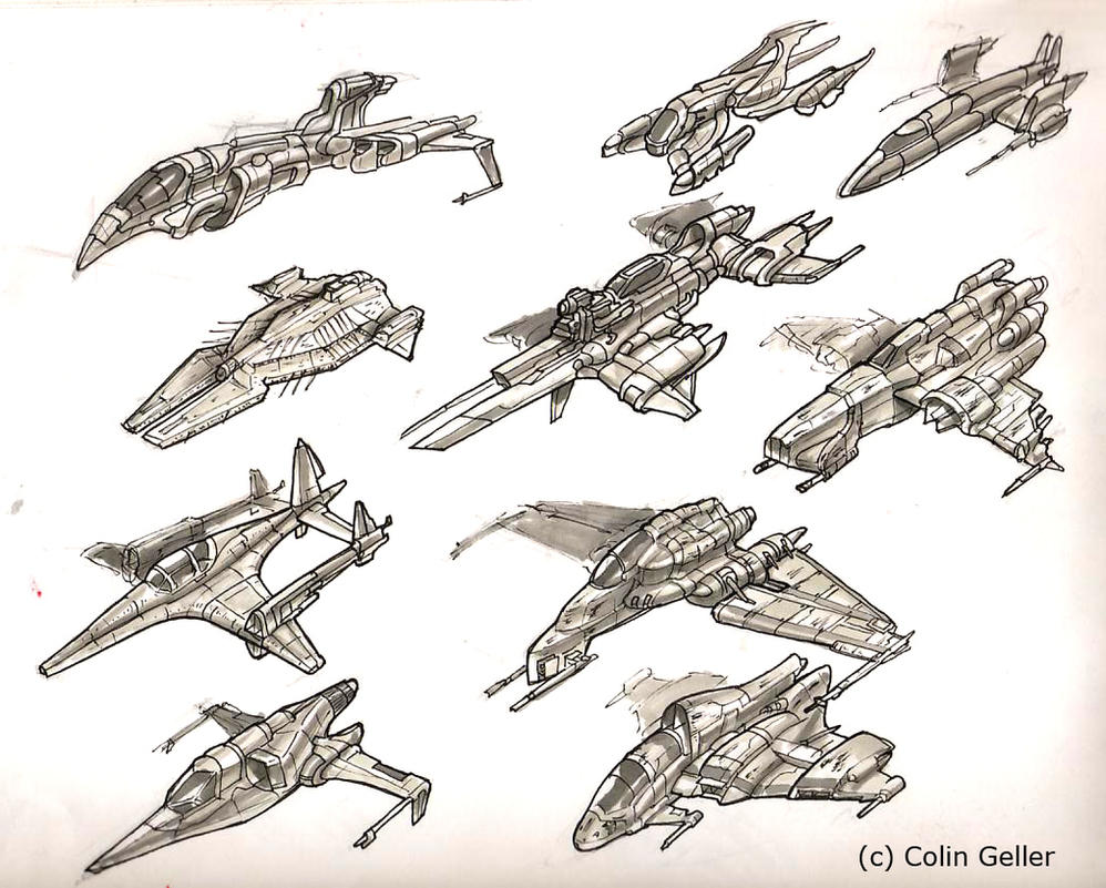 how to write about spaceships