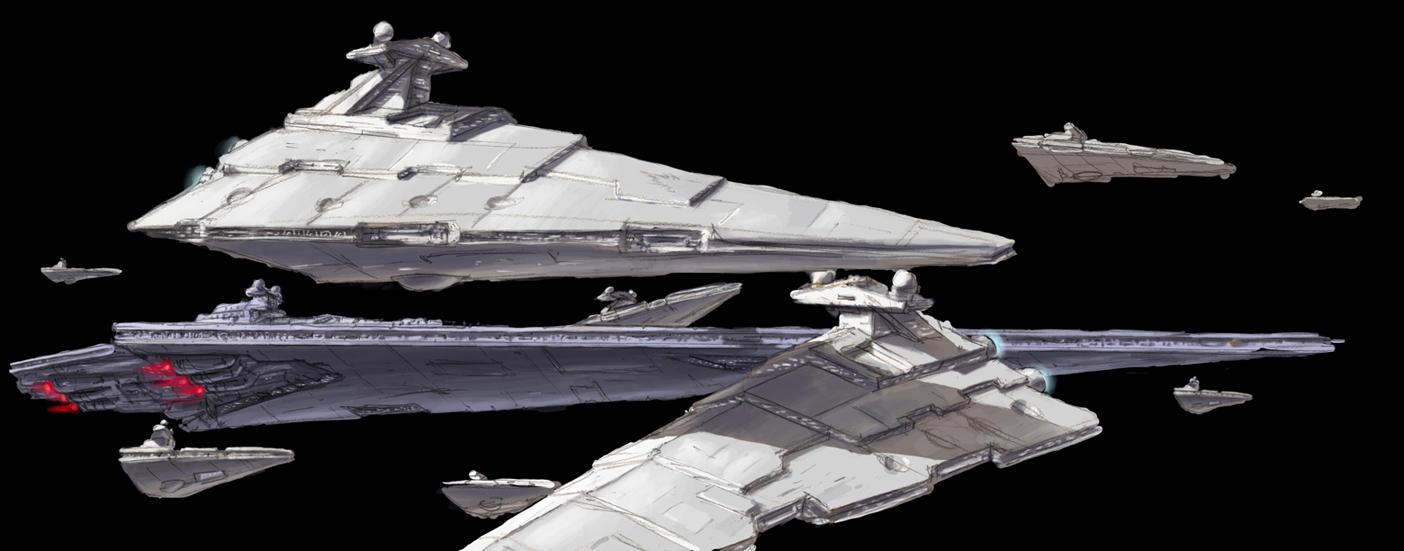 Imperial Fleet WIP 3 by MeckanicalMind
