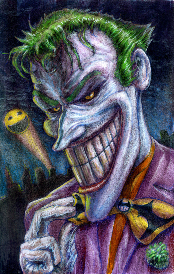 The Joker by MeckanicalMind