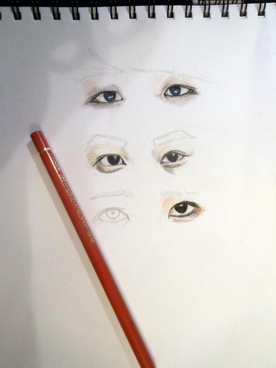 EXO-K Eyes by TheNomNomApple