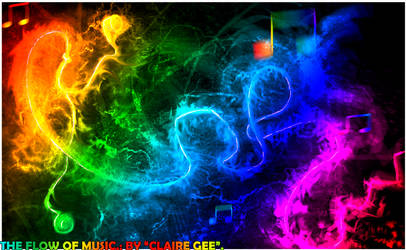 .:The flow of music.: