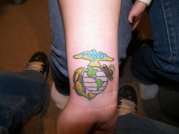 marine tattoo