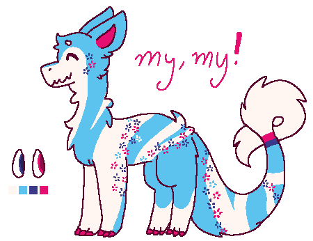 My, My! - JBD Adopt [Open!] by Cheescakers