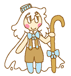 (goats') milk cookie