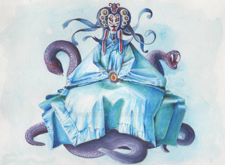 Femme serpent by Graphnana