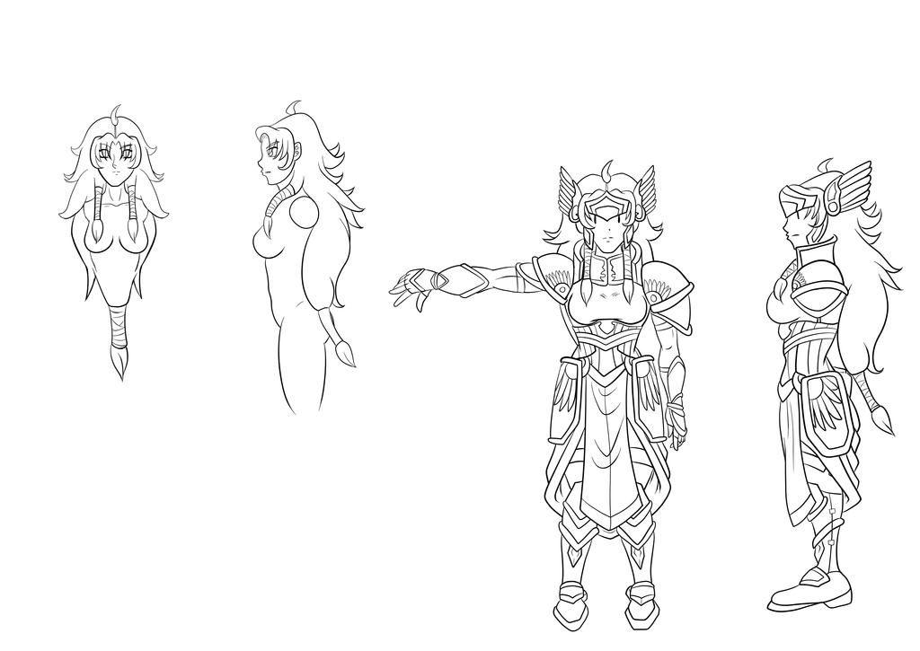 Valkyrie Trade wip by Ryujisama