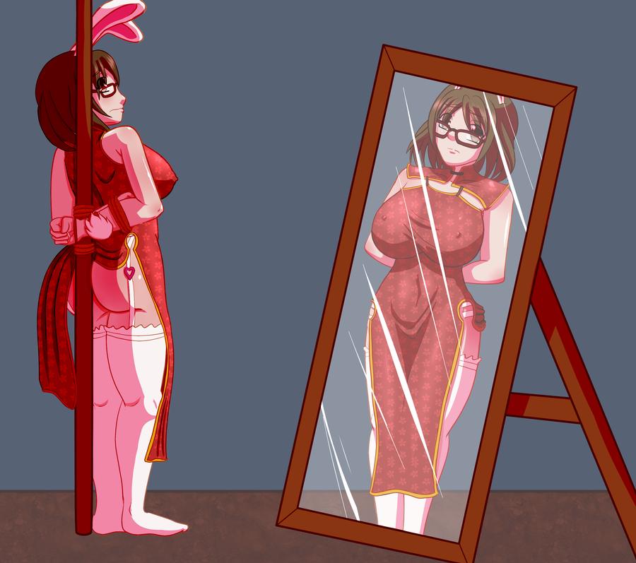 Commissioned Art -- Mirror Mirror by Ryujisama
