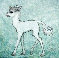 Baby Unicorn by tygriffin