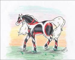CoaH Stallion: Isaiah by BlackGlassButterfly