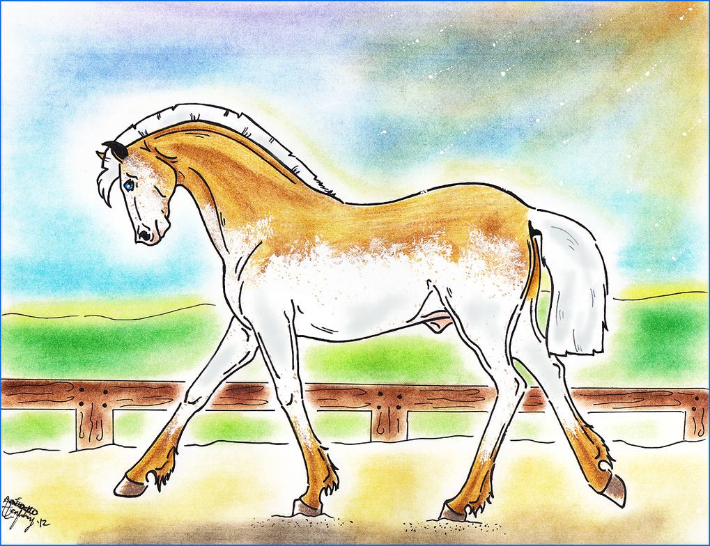 CoaH Stallion: Vespere Lux 97 by BlackGlassButterfly