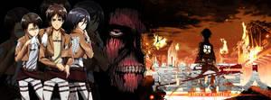 Attack on Titan/Shingeki no Kyojin Facebook Cover