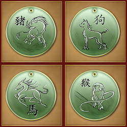 Chinese Zodiac 1 by Darkhanna
