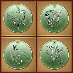 Chinese Zodiac 2 by Darkhanna