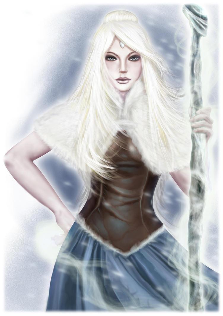 Nordic Sorceress by Darkhanna