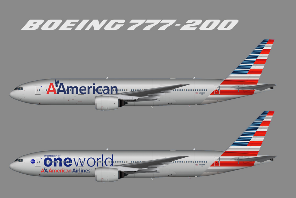 The New American Livery With The Vignelli Logo By