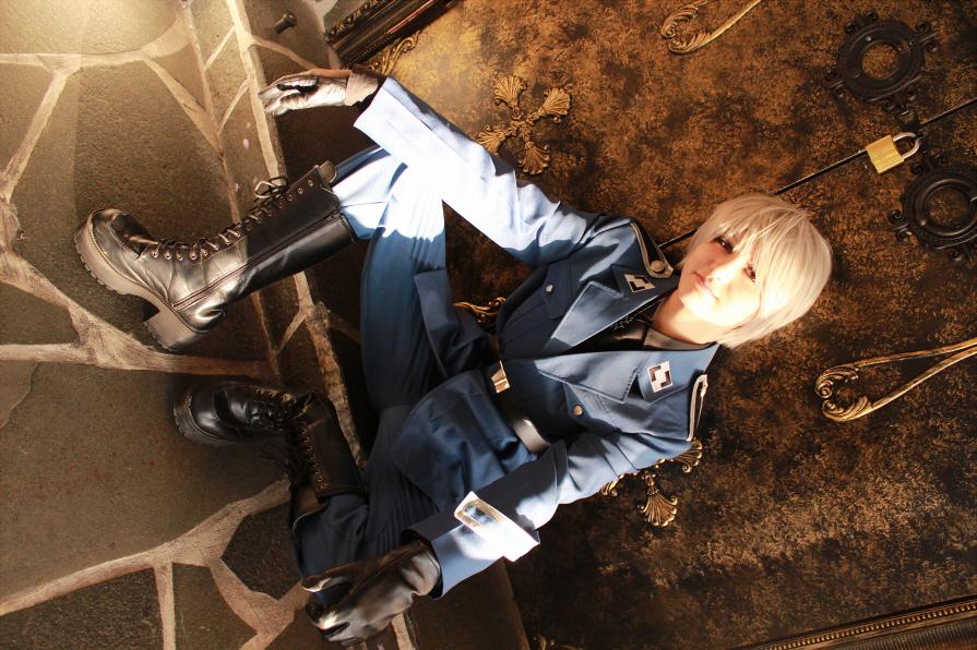 Hetalia cosplay: Prussia by janikol