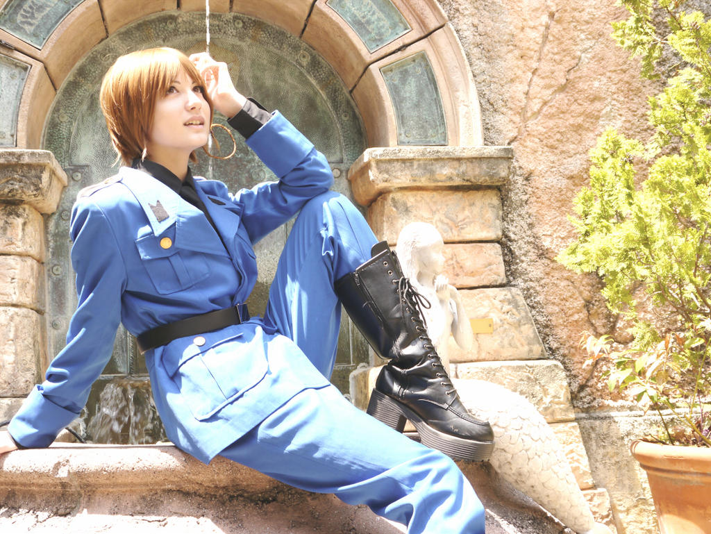 Hetalia cosplay: Italy by janikol