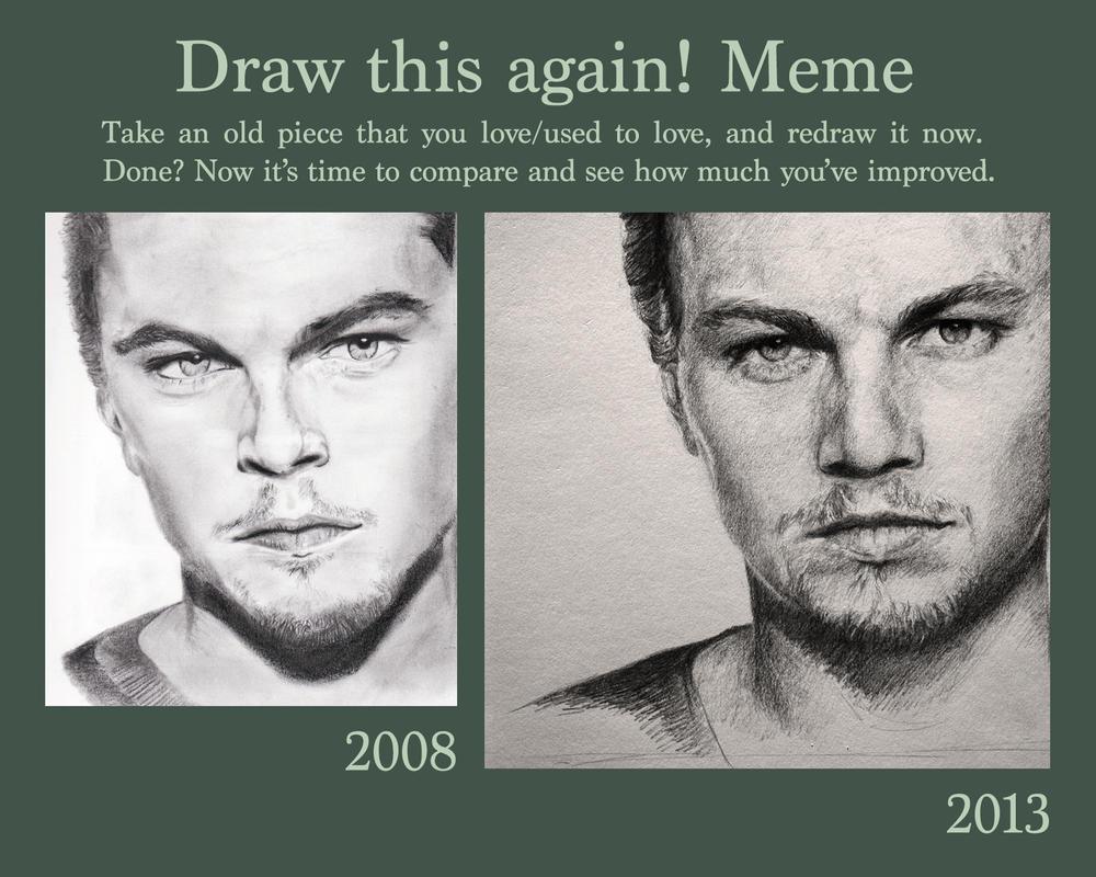 draw this again leonardo dicaprio by gunneos on deviantart