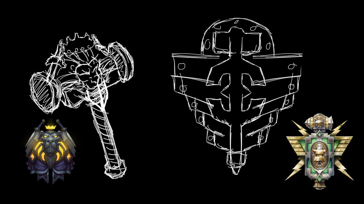 Blizzfest wip6 - fighting gear ideas by Peschiera