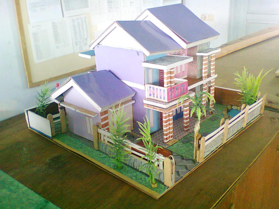gambar maket rumah