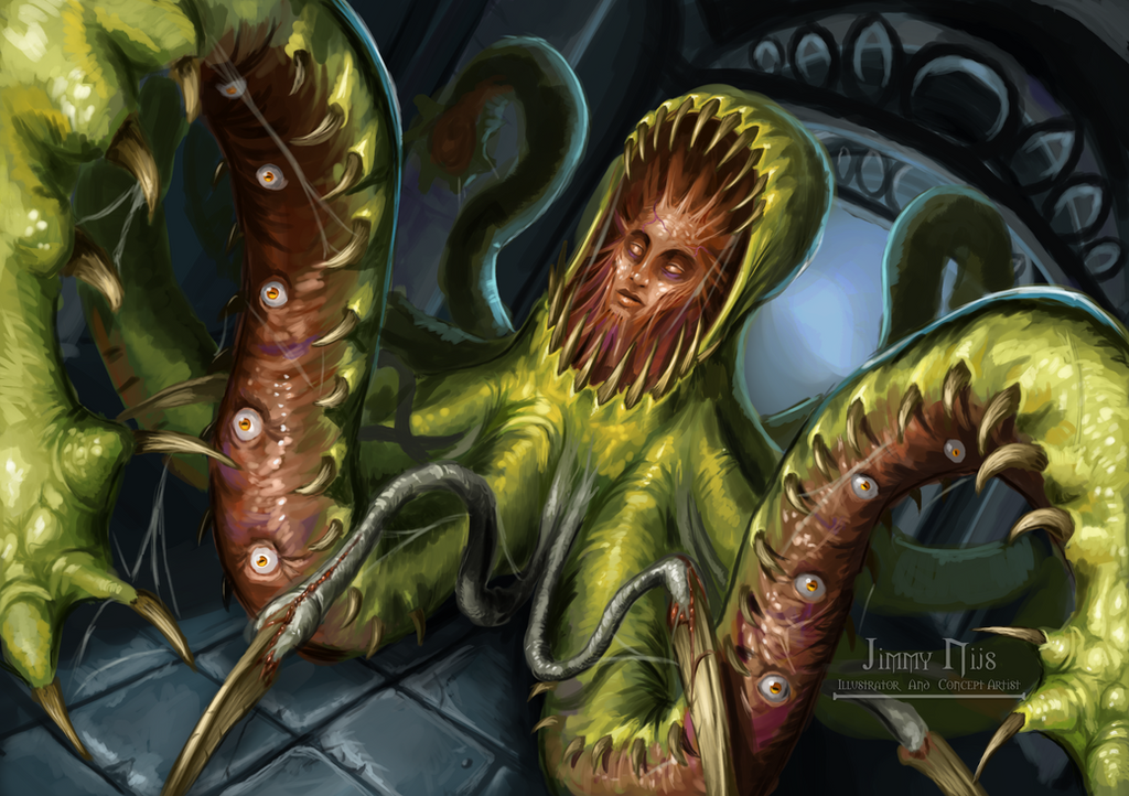 Eldritch creature by jimmynijs on deviantart - Eldritch wallpaper ...