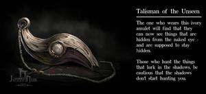Item design - Talisman of the Unseen