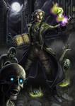 [ COMMISSION ] Lex the Necromancer