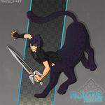 Final Fantasy XV Centaurs: Noctis by frankly-art