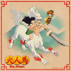 A Four-Legged Feudal Fairy Tale! (InuYasha)