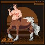 Pholus Reborn: Applejack, The Tech Guy by frankly-art