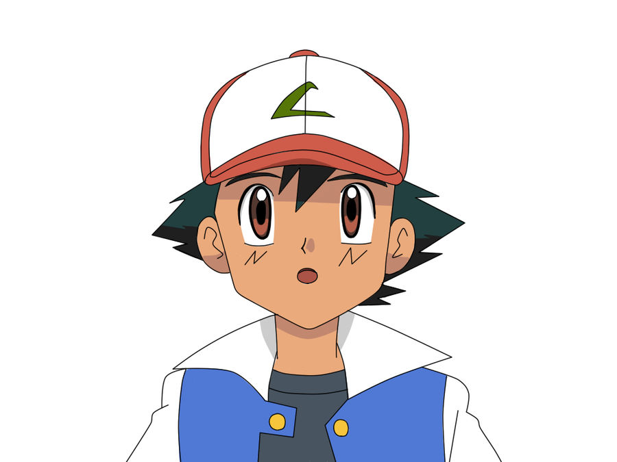 Ash Ketchum in Black/White with Kanto clothes by HeartPM ...