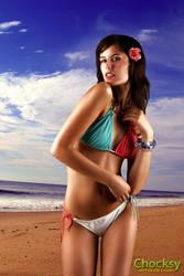 Beach Girl by Chocksy