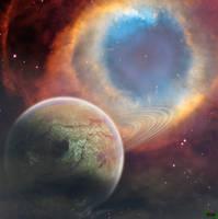 Feel the breeze detail-planet by Chocksy