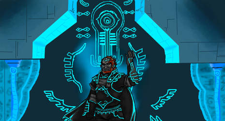 Twilight Ganondorf by Jacyll